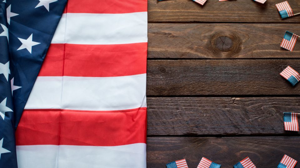 American Flag for Memorial Day or 4th of July – Background